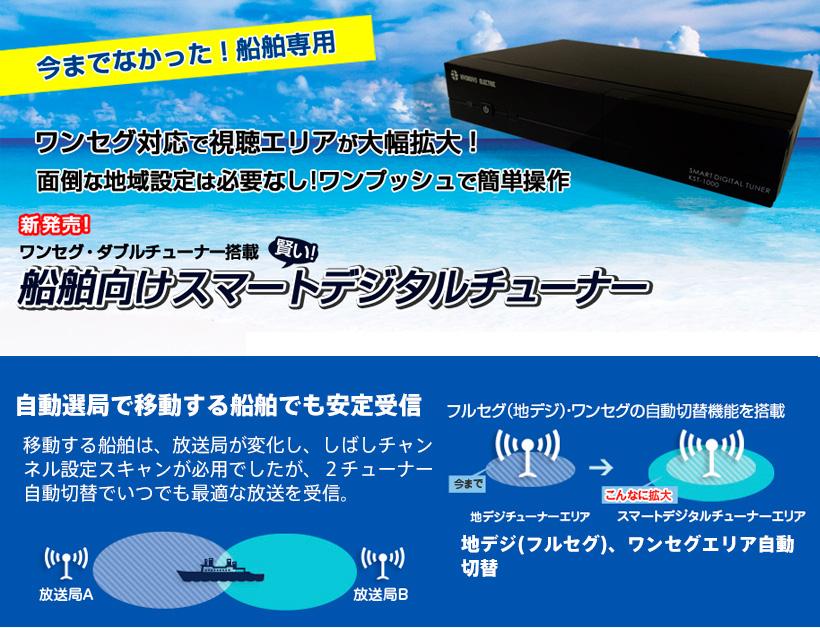 船舶用地デジチューナー